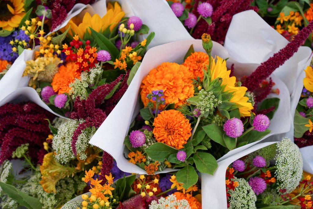 Summertime Flower Arrangements